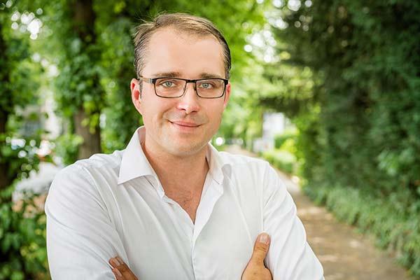 Portrait Florian Sommer, Geschäftsführer Elektrotechnik Sommer